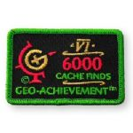6000 Finds Geo-Achievement Patch (4)